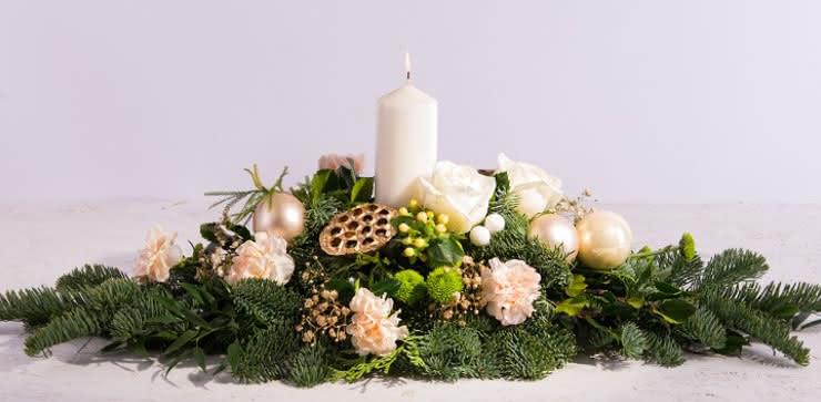 Enviar centro de navidad a domicilio