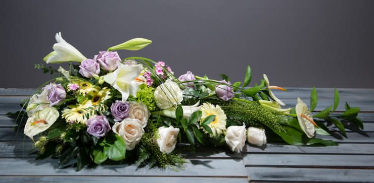 Enviar flores para un funeral a tanatorios