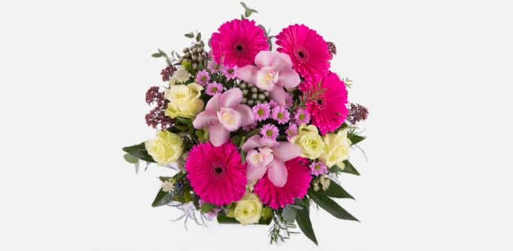 Enviar arreglo floral rosas y gerberas a domicilio