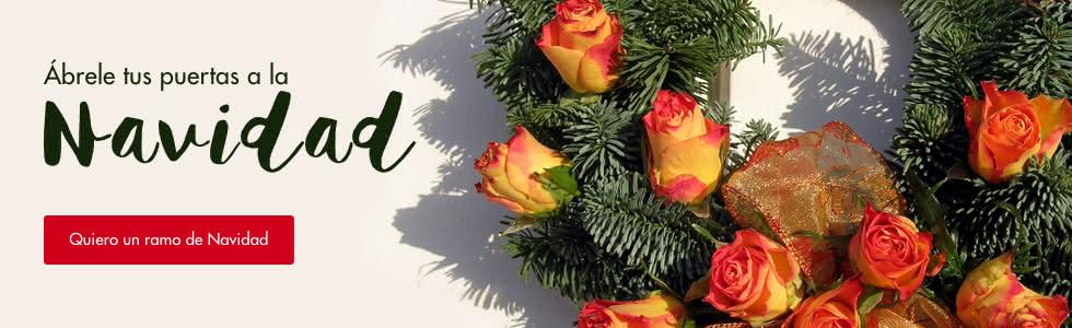 En Navidad regala flores con Interflora