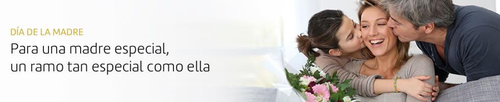 Enviar ramos de flores para el Dia de la Madre. Con entrega el domingo 7 de mayo