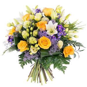 Atlantico - Ramo de flores especial con rosas amarillas