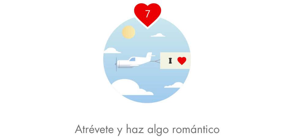 Atrévete y haz algo romántico
