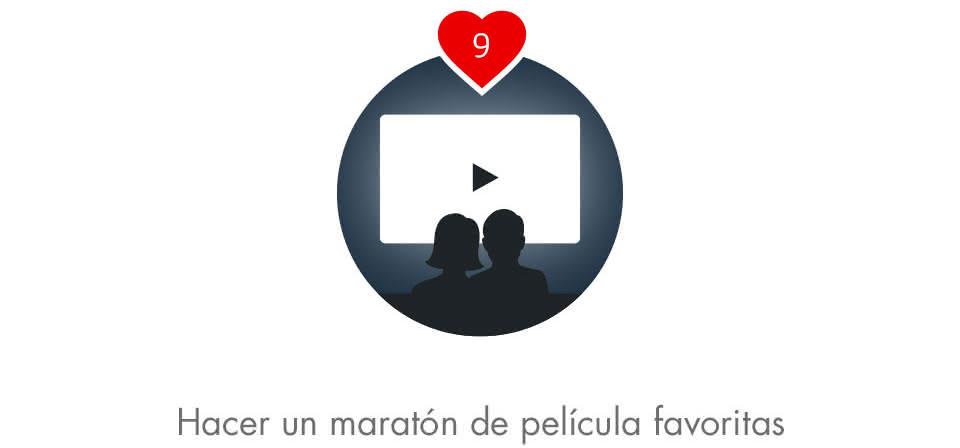 Disfruten de una maratón de películas favoritas